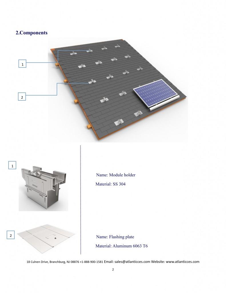 Rail-less mounting hardware 2